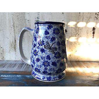 Bierkrug, 15 cm hoch, für 500 ml plus Schaum, Dragonfly, BSN A-0957