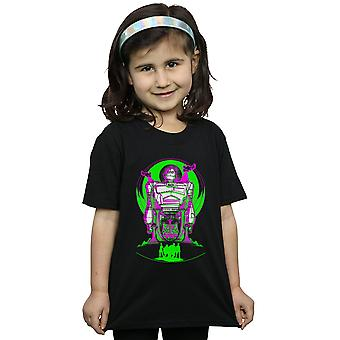 Pronto Player One ragazze Neon ferro gigante t-shirt