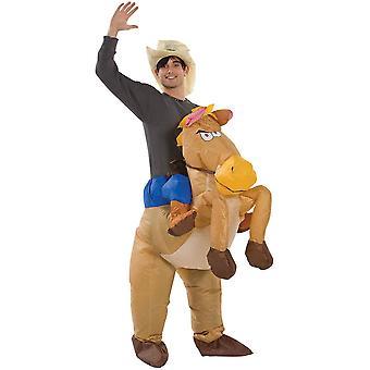 רכיבה מתנפחת על סוס למבוגרים תלבושות