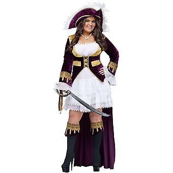 Étincelant Costume adulte Pirate