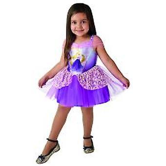 Rapunzel Ballerina Disney Kostüm Kleid pink Kinder Karneval Märchen Prinzessin Mädchen