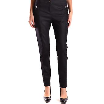 Liu Jo Ezbc086013 Women's Black Wool Pants