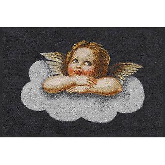 Lion de salon tapis tapis lavables saleté de petit ange 50 x 75 cm