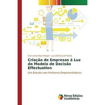 Criao de Empresas Luz Modelo de Deciso verkställighet av Alves Pelogio Emanuelly