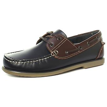 dek M551 Mens Moccasin Boat Lace Up Shoes  AND COLOURS