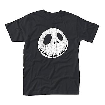 Men's The Nightmare Before Christmas Jack Cracked Face T-Shirt