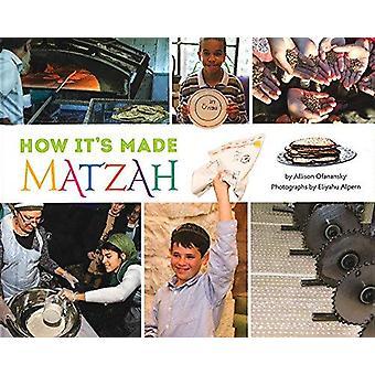 How It's Made - Matzah by Allison Ofanansky - 9781681155241 Book
