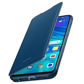 Huawei P Smart Case 2019/eer 10 Lite flip case kaarthouder-Nachtblauw