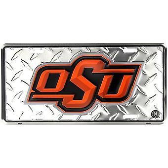 "Oklahoma State cowboys NCAA ""Diamond"" matrícula"