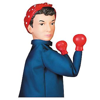 Archie McPhee Rosie The riveter Punch Puppet