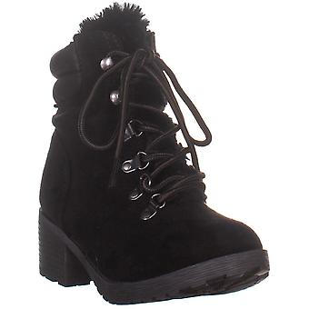 Rock & Candy Womens Saydie Fabric Closed Toe Ankle Fashion Boots
