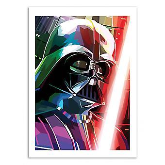 Art-Poster - Darth Vader - Liam Brazier 50 x 70 cm
