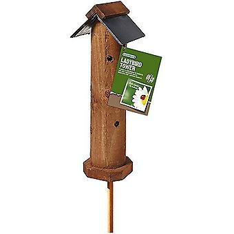 Ladybird & Insect Safe Habitat Tower
