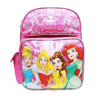 Medium Backpack Disney Princess Cinderella Aurora Bella & Ariel A08431