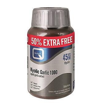 Quest Vitamins Kyolic Garlic 1000mg Tabs 45 (P601921)