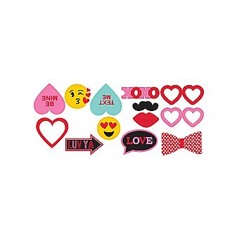 Valentine's Day Photo Booth Props