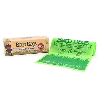 Beco sacos Eco friendly plástico cão cocô sacos com dispensador roll