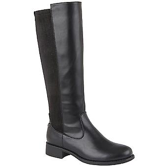 Cipriata Womens/Ladies Rachela Elasticated Calf High Leg Boot