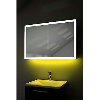 Ambiente iluminado borde Cab con desempañado, máquina de afeitar, Sensor k466w