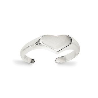 925 plata esterlina sólida pulido amor corazón corazón anillo joyería regalos para las mujeres