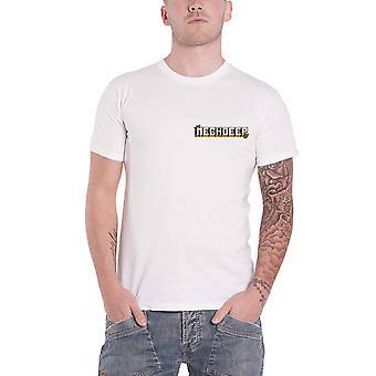 Neck Deep T Shirt Parachute Band Logo new Official Mens White