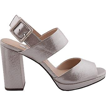 Nina Womens Athena Fabric Open Toe Casual Slingback Sandals