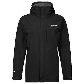 Berghaus Jet Black Womens Hillwalker Long Jacket
