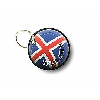Cle Cles Key Brode Patch Ecusson Flag Balloon Foot Iceland