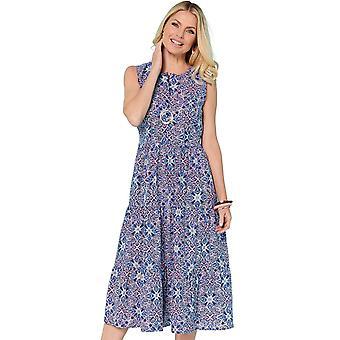 Chums Geo Print Holiday Dress