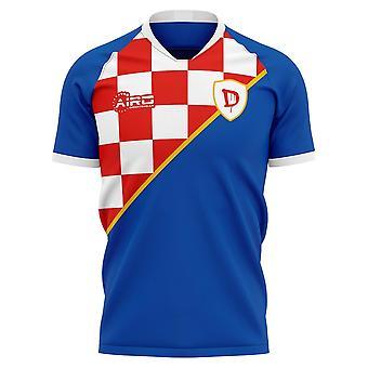 2020-2021 Dinamo Zagreb Home Concept Futbalové tričko