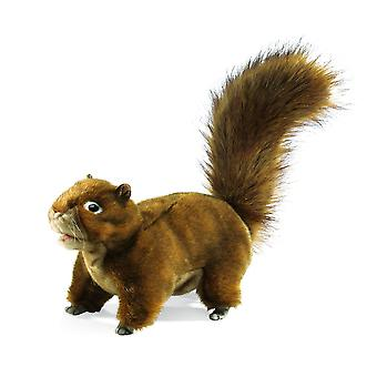 Hand Puppet - Folkmanis - Squirrel Red New Animals Soft Doll Plush Toys 2880