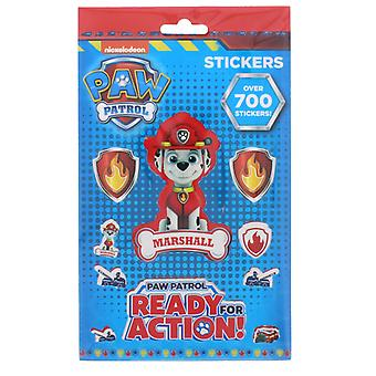 700st paw Patrol Chase Marshall Skye stickers set stickers