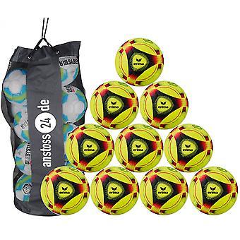 10 x erima Hall ball hybrid indoor 2019 includes ball sack