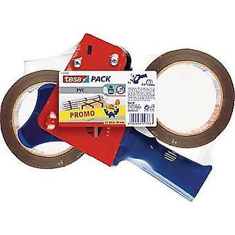 tesa tape dispenser 57108 brun tønne bredde (maks.): 50 mm blad beskytter