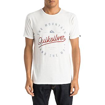Quiksilver Scriptville Lyhythihainen T-paita lumivalkoinen