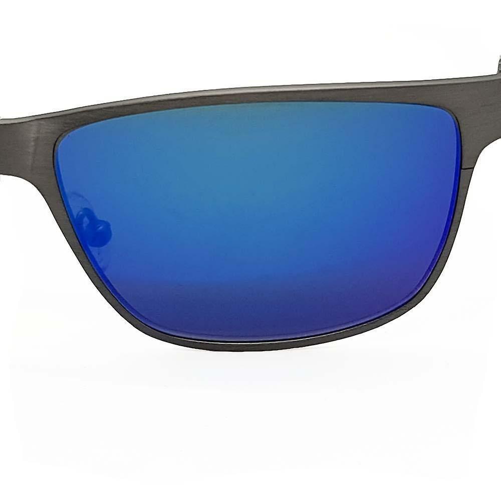 Titanium Wayfarer Sunglasses - TITAN - Gun Metal
