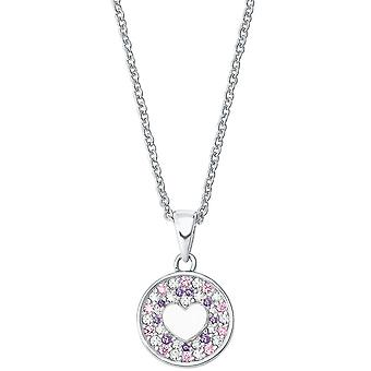 Princess Lillifee Kids Kids Necklace Silver Heart 2027220