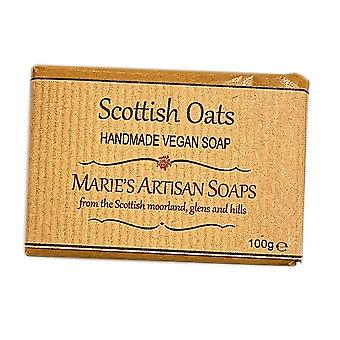 Marie's Artisan Soaps Handmade Vegan Soap 100g - Scottish Oats