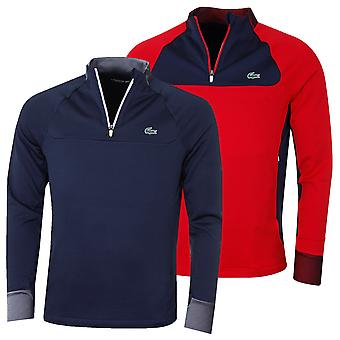 Lacoste Mens Half Zip Golf Technical Midlayer Sweater