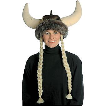 Chapeau de Viking avec des tresses