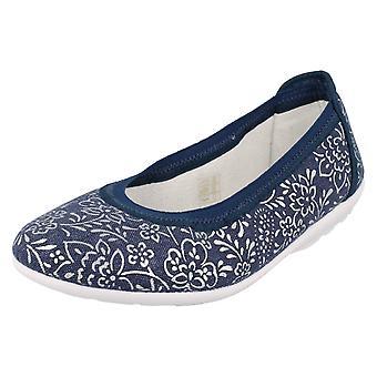 Dames Easy B canvas schoenen Nairn