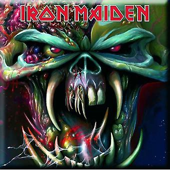 Iron Maiden Fridge Magnet The Final Frontier new Official 76mm x 76mm