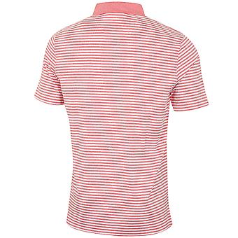 Bobby Jones Mens XH2O Fusion Feed Stripe Jersey Golf Polo Shirt