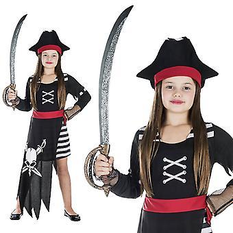 Traje de niño novia pirata marinero, pirata traje de Seeräuberin