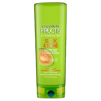 Garnier Fructis Fortifying Shampoo, Sleek & Shine, 370ml