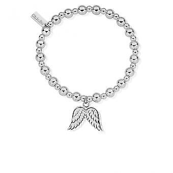 קלואי בו SBMSB702 נשים מיני ' כדור קטן מלאך צמיד כנף