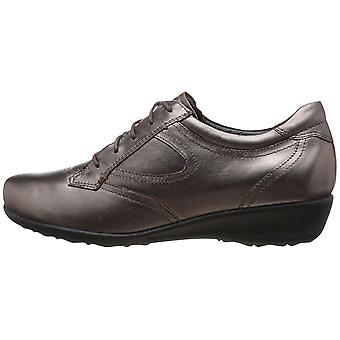 Drew Shoe Womens prague Leather Low Top Lace Up Fashion Sneakers