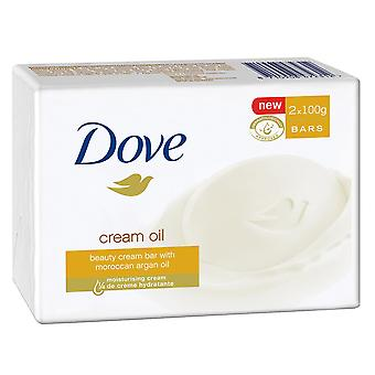Dove Bar SOAP, Marokkaanse arganolie, 2 bars
