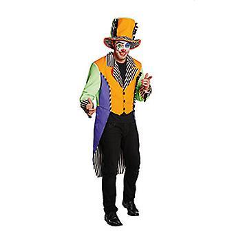 Klaun dress kostium neon circus szalony reżyser mężczyzn
