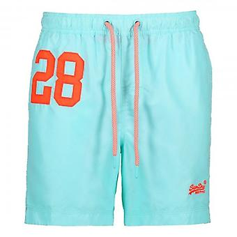 Superdry Water Polo Swim Short Light Blue Q2R